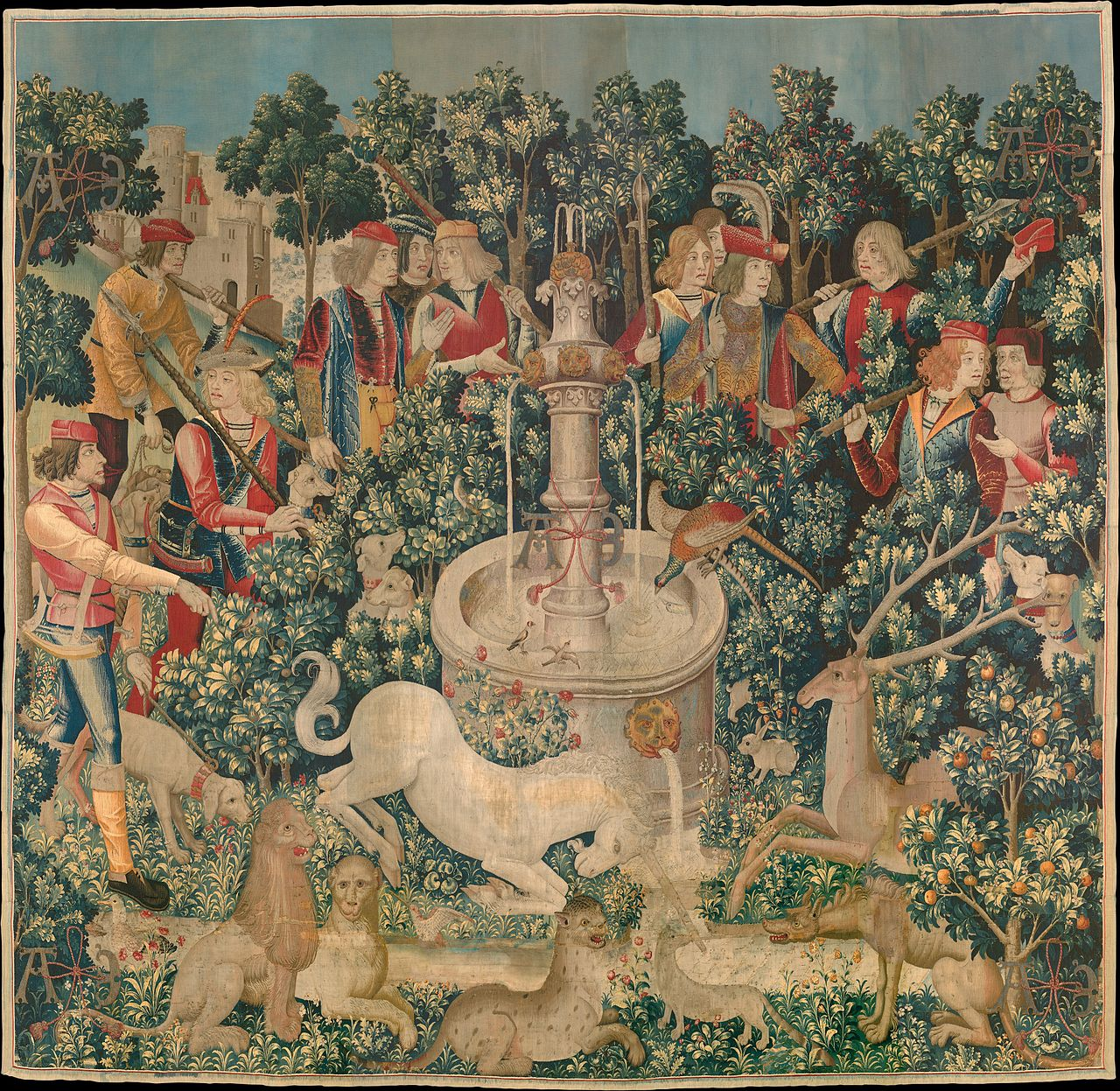 The_Hunt_of_the_Unicorn_Tapestry_1