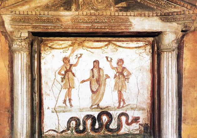 LararioCasa del Menandro, Pompei